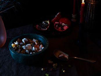 """Problem Solving Nuts"" for Shab-e-Yalda, the Longest, Darkest Night"