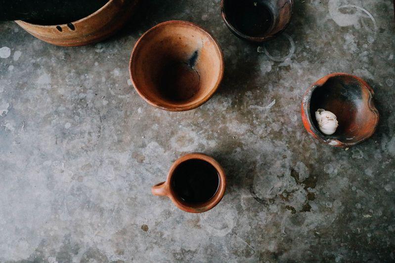 Ceramics for your use at Casa Tiny.