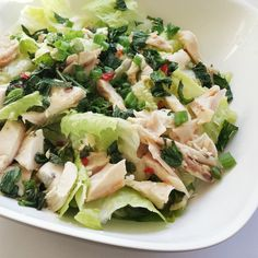 Vietnamese Chicken and Mint Salad (Goi Ga)