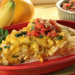 Potatoes & Cheese Bruncheros