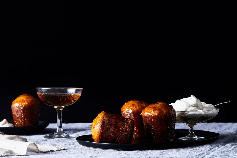 Baba au Bourbon has a nice ring to it, no?