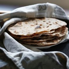How to make Simple Flour tortillas 4 ingredients