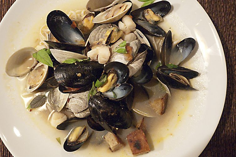 Shellfish Soup (or Brodetto di Crostacei)