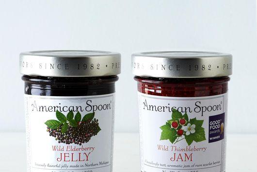 Wild Elderberry & Thimbleberry Jam (2 Jars)