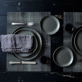Handmade Charcoal Grey Dinnerware