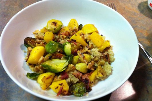The B's Knees (Bacon, Butternut Squash and Brussel Sprouts)
