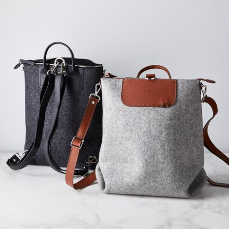 Bedford Felt & Leather Backpack