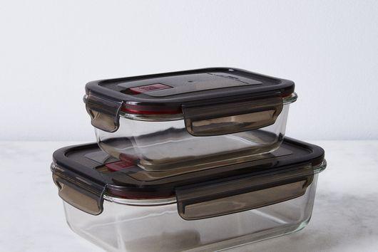 Borosilicate Glass Storage Container (Set of 2)