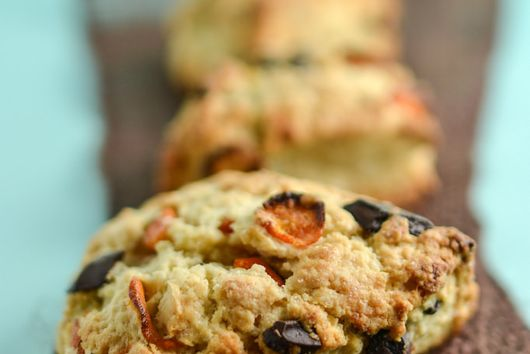 Kumquat Chocolate Scones