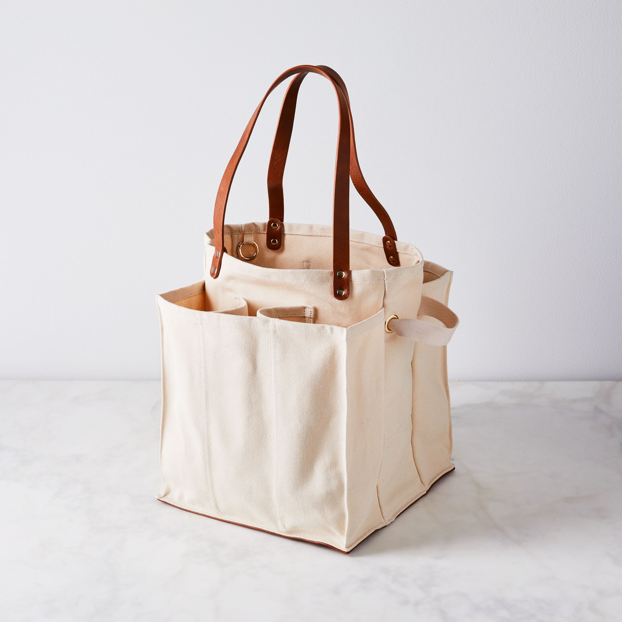 Multi Pocket Canvas Market Tote On Food52