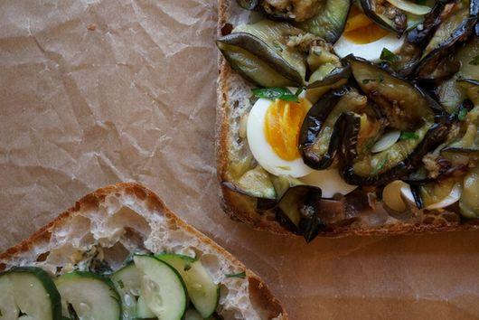 "Summer Eggplant ""Sangwich"""