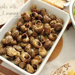 Fried Snails with Olive Oil & Rosemary (aka Boubouristoi)
