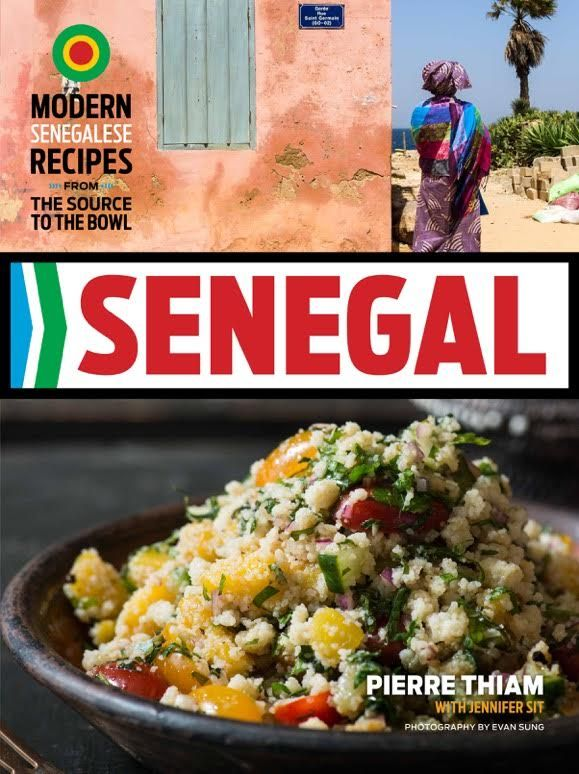 Pierre Thiam's just-released book, Senegal.