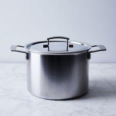 Demeyere Industry 5-Ply Stock Pot, 8QT