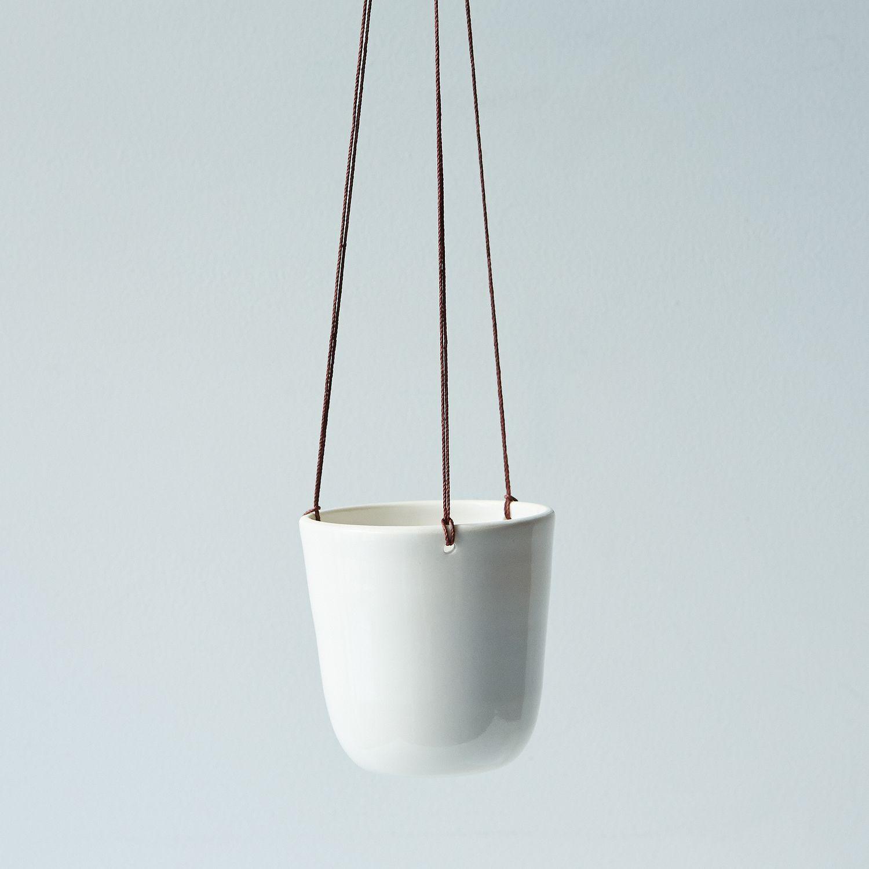 - Mini Ceramic Hanging Planter On Food52