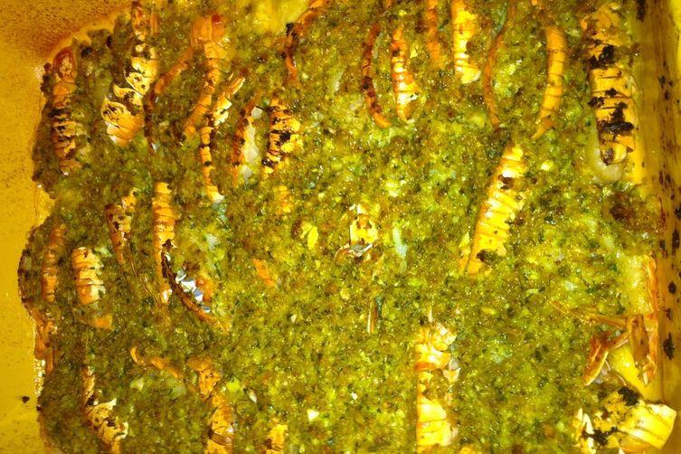 Baked Shrimp Scampi Pasta