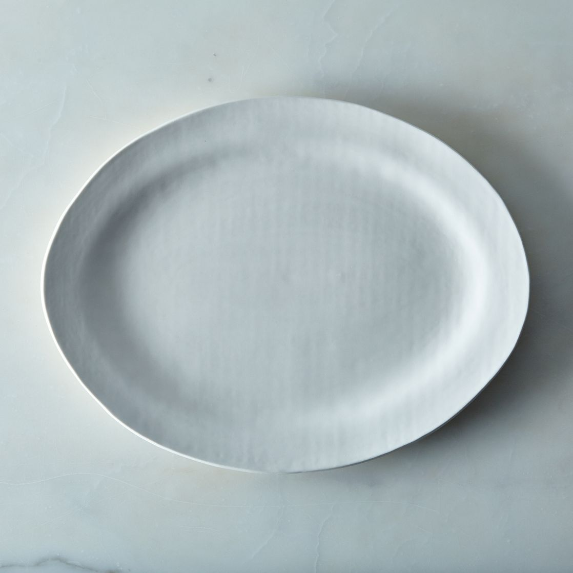 food52 handmade oval serving platter by looks like white on food52