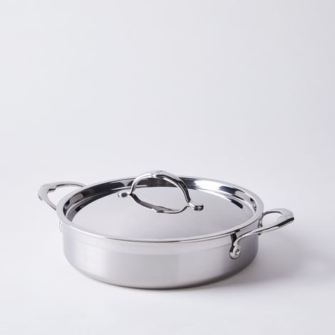 Hestan Probond Forged Stainless Steel Sauteuse, 3.5QT