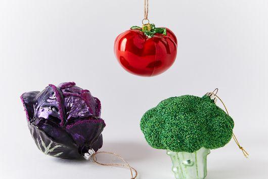 Farmers Market Produce Ornaments