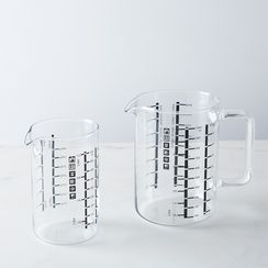 Borosilicate Glass Measuring Cup And Beaker Set