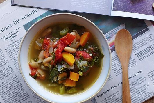Late Summer [Every Vegetable] Minestrone