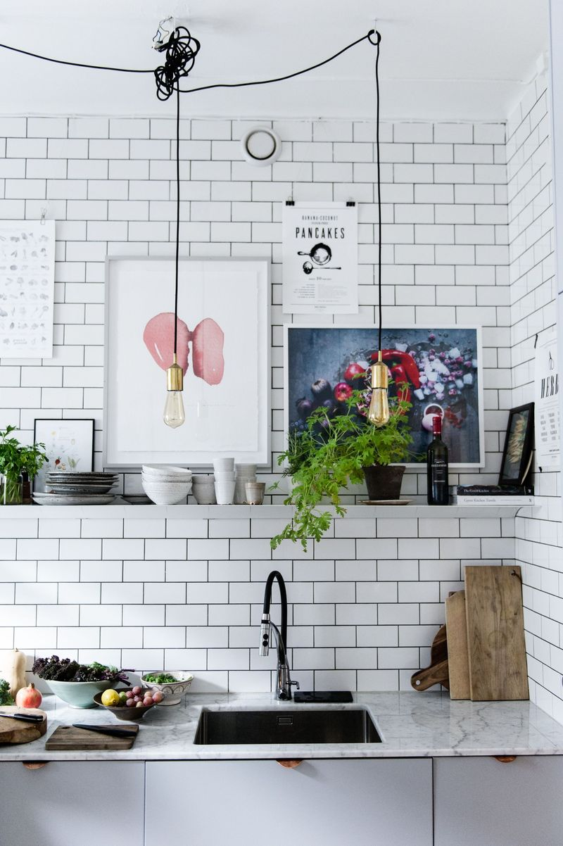 it was during these first few years of sharing a kitchen which had a bright green wall that david and luise began shaping the green kitchen stories blog: guy kitchen meg