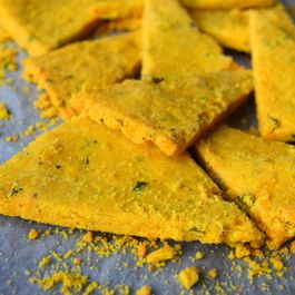Healthy Nachos With Chickpea Flour