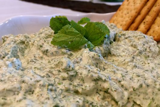 Jalapeno Flavored Spinach Dip!