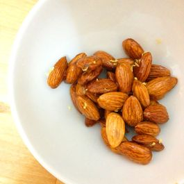 Candied Almonds with Lemon Zest