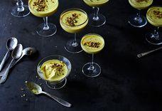 Golden Milk Panna Cotta