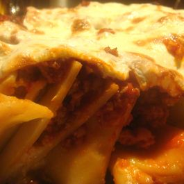 Stand-Up Baked Paccheri with Italian Sausage