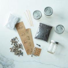 DIY Mason Jar Herb Garden Kit