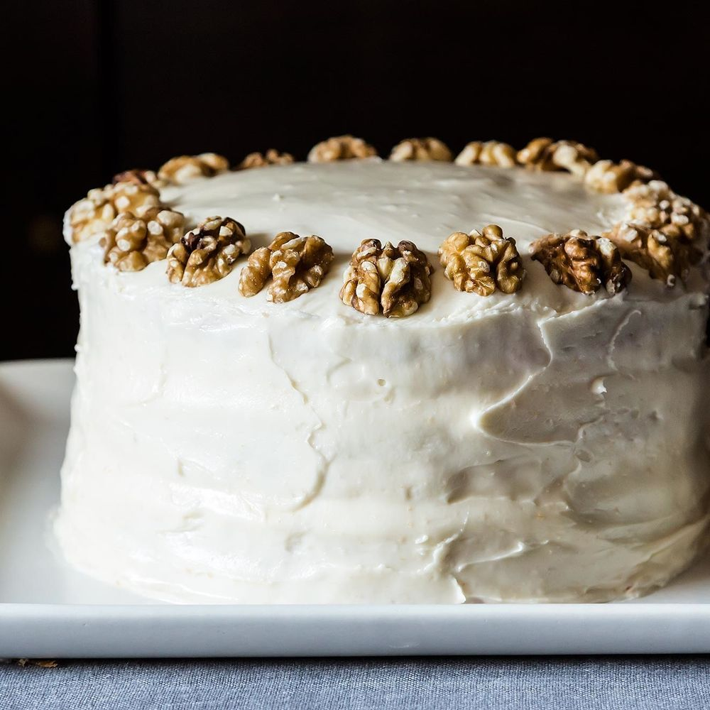 Butter-Toasted-Walnut Layer Cake Recipe On Food52