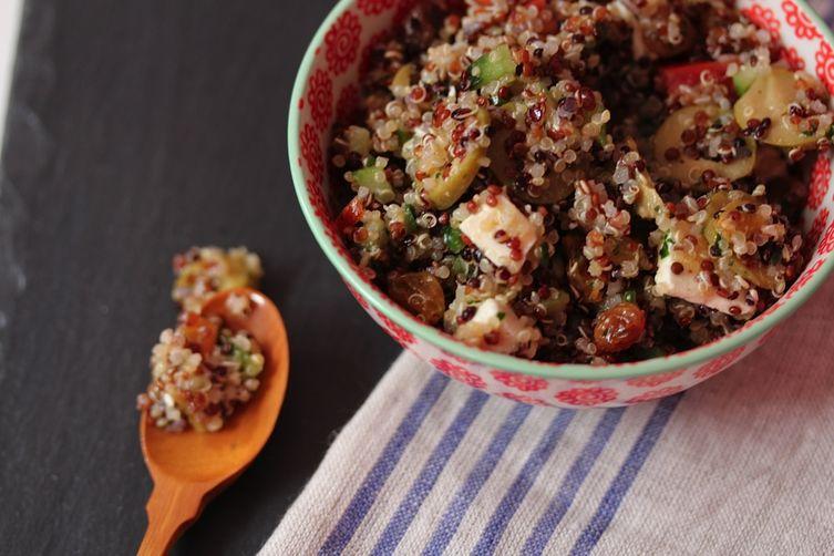 Red & White Meditterranean Quinoa