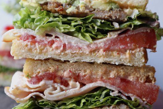 Spicy Kimchi Mayo Sandwich
