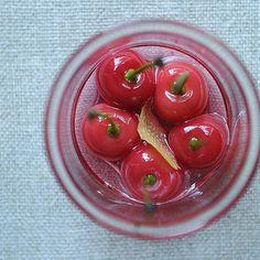 Boozy Sour Cherries