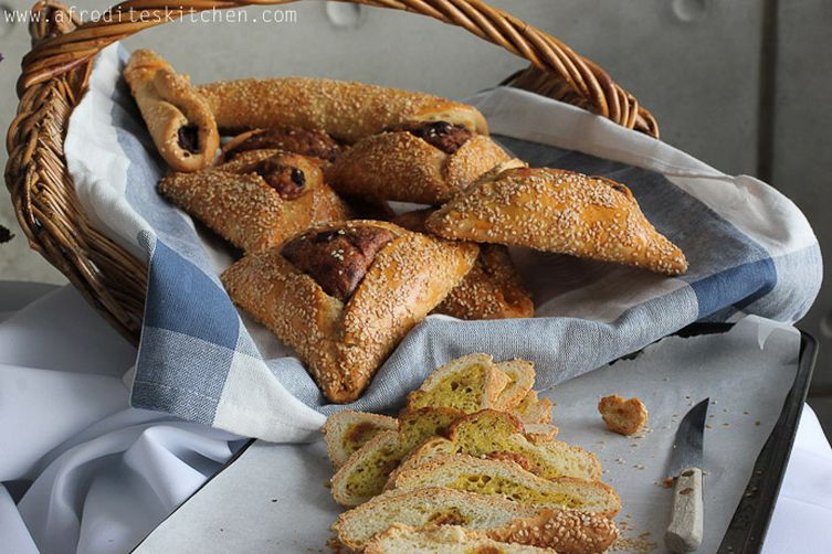 "Cyprus Easter Cheese Bread (""Flaounes"")"