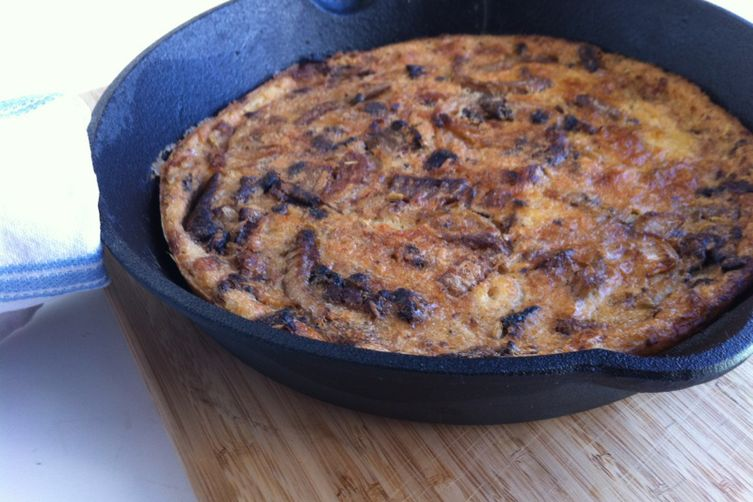 Caramelized Fennel and Onion Farinata