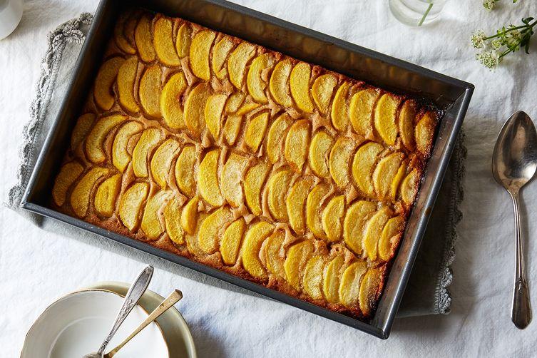Peach Cobbler-Cake
