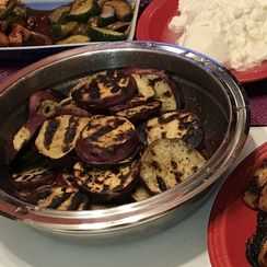 Grilled Korean Sweet Potatoes