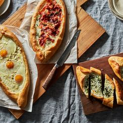 We Give You Bread Boats Filled with Ooey, Gooey Cheese (& Egg)