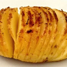 Oven-Roasted Fan Potato