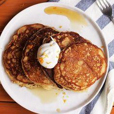 Citrus Spelt Pancake