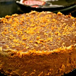 Peanut Butter Pie - A Pie for Mikey
