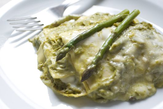 Italian Asparagus Lasagna