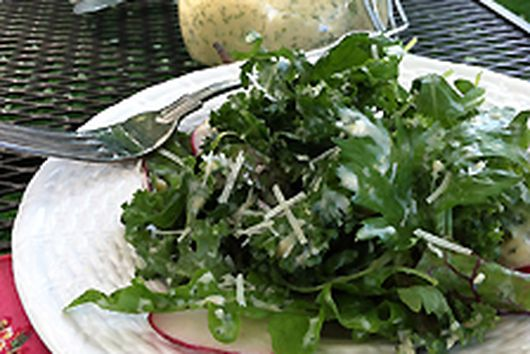 Buttermilk & Fresh Herb Salad Dressing