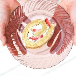 Gluten Free Strawberry Swiss Roll