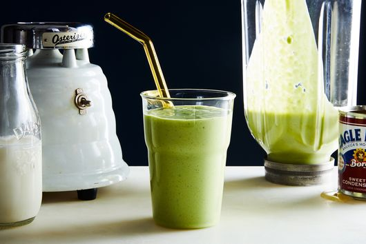 Matcha-Avocado Smoothie