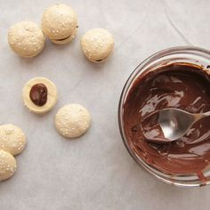Turkish Coffee Meringues