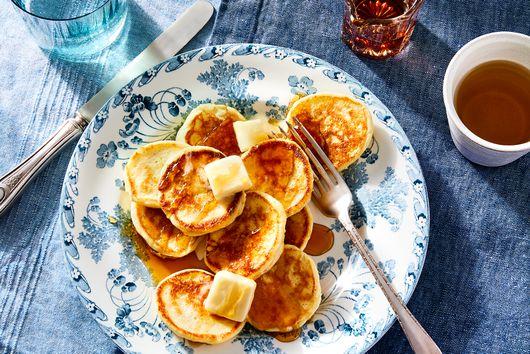 Super-Fluffy Lemon Ricotta Pancakes